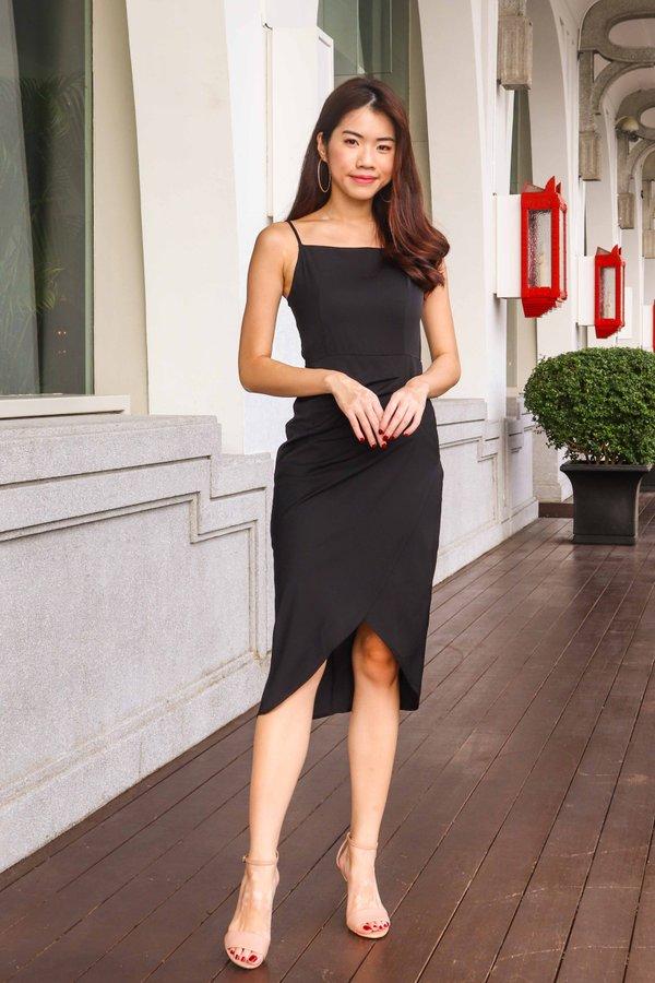 Davo Cocktail Dress in Black
