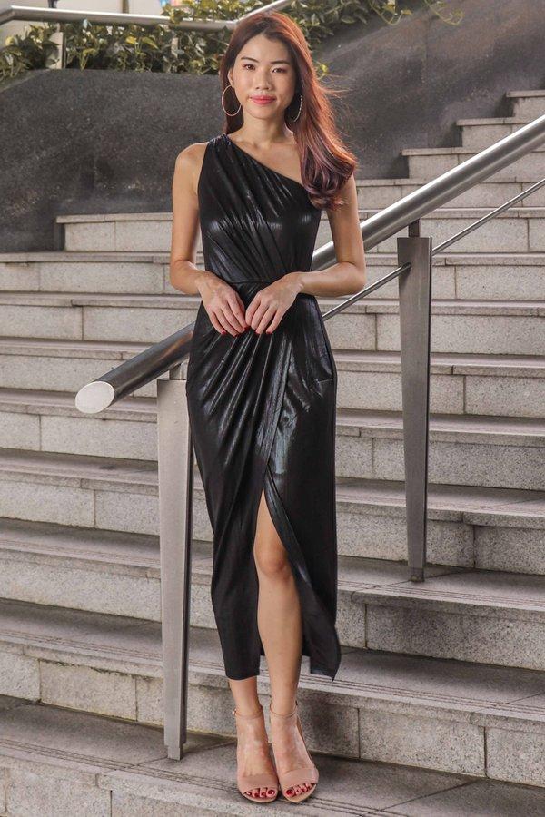 Gwen Gala Dress In Black