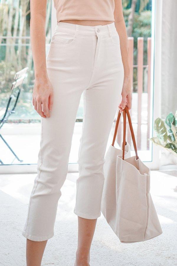 Gemma Jeans in White