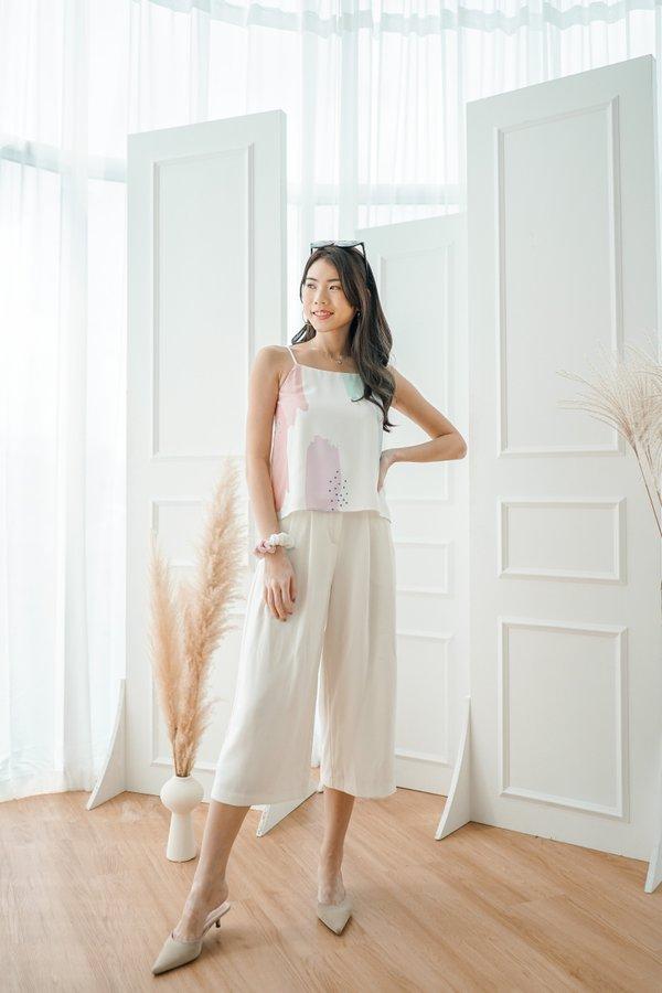2-Way Anni Cami Top in White
