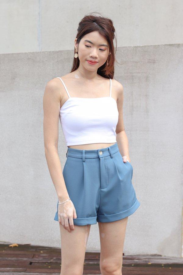 Yoda V2 High Waist Shorts in Cobalt Blue
