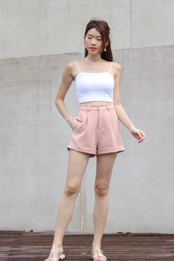 Yoda V2 High Waist Shorts in Pink