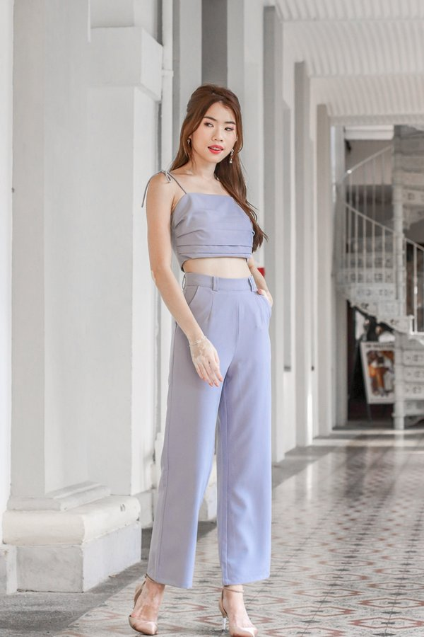 Mackenzie Pants in Greyish Blue