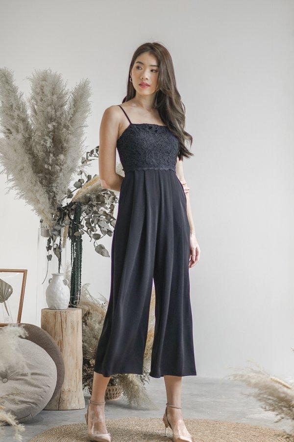 Jayla Jumpsuit in Black