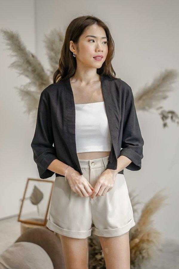 Hannah Kimono in Black