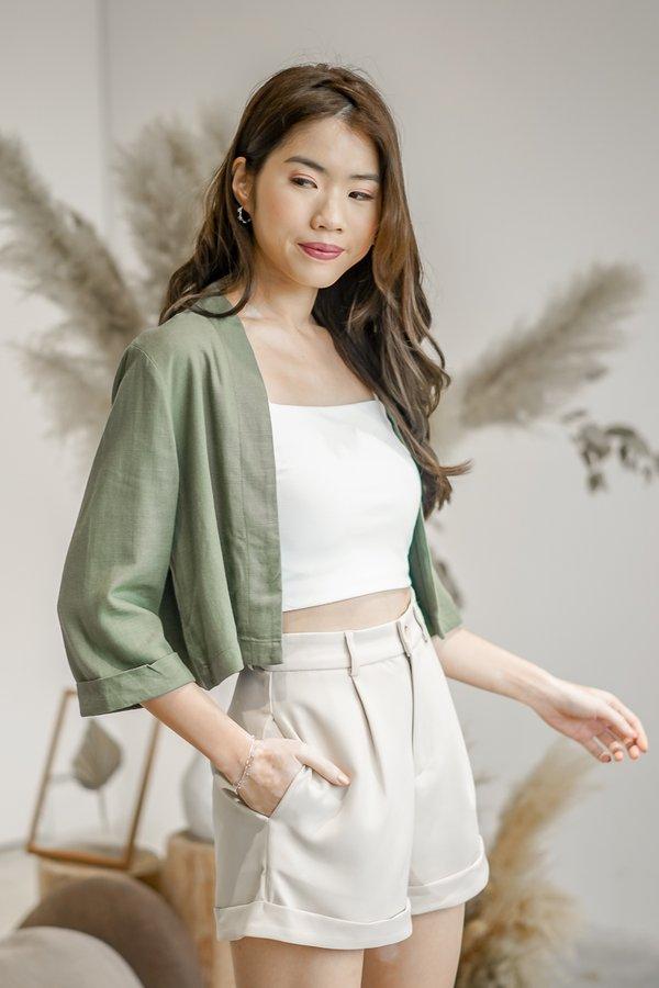 Hannah Kimono in Olive