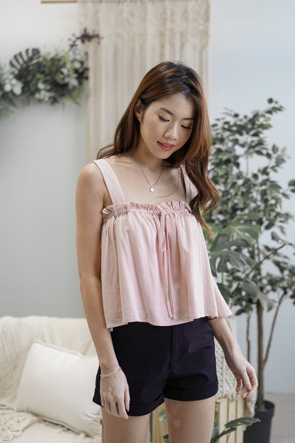Twila Flowy Top in Pink
