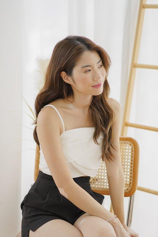 Aria Top in White