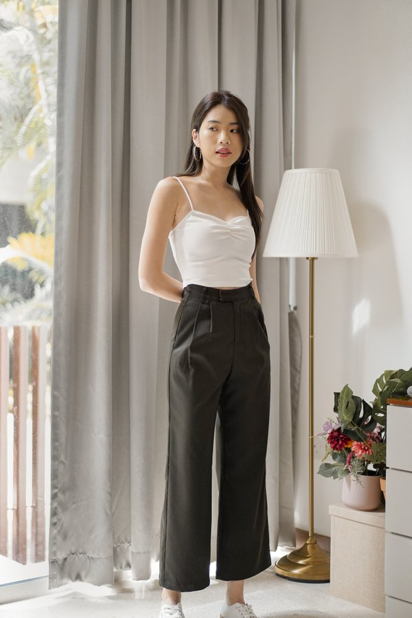 Oliver Pants in Deep Forest Green