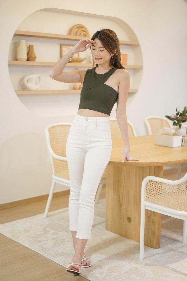 Brayden Skinny Jeans in White