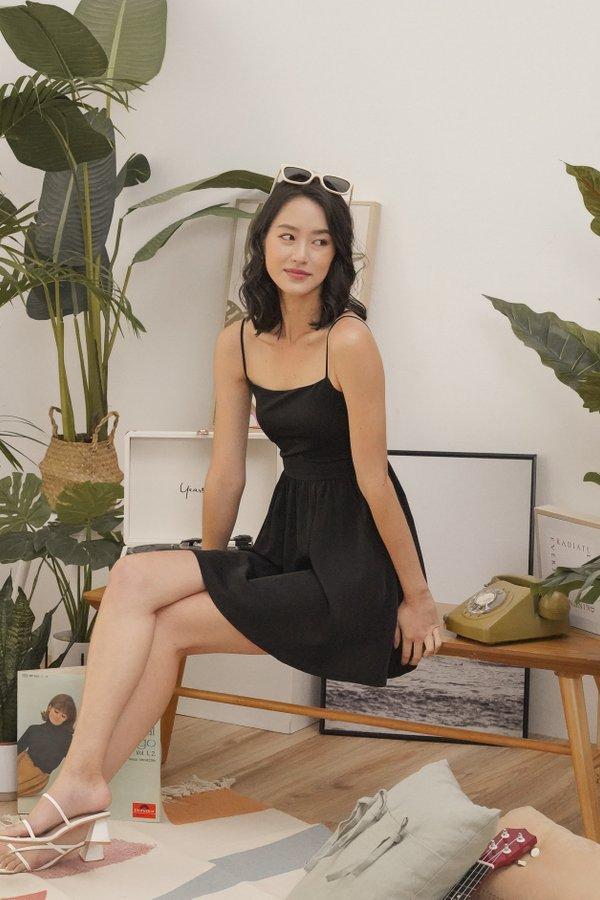 Phoebe Cami Dress in Black