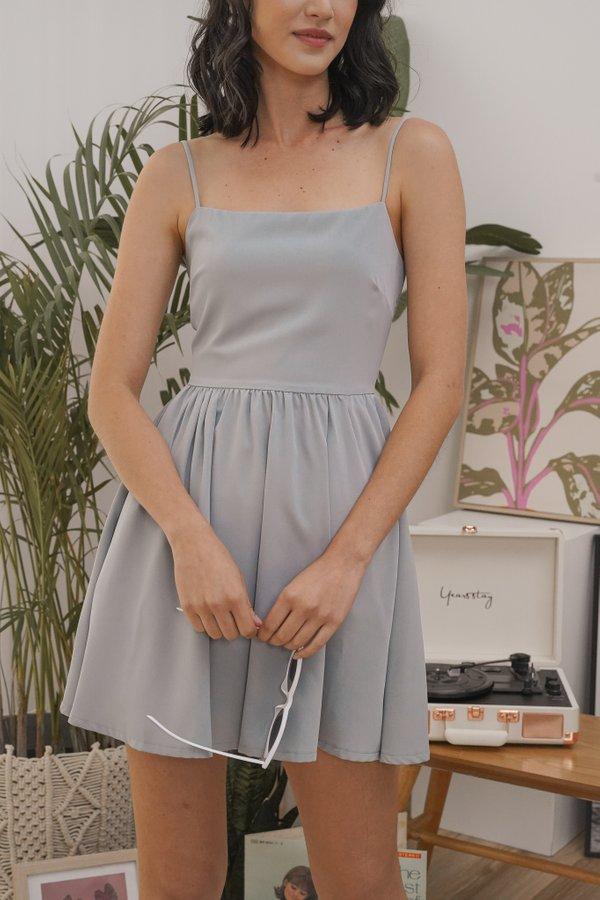 Phoebe Cami Dress in Powder Blue